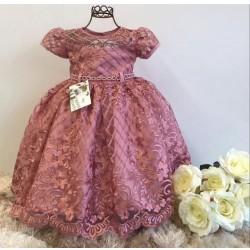 Vestido de festa Rosê