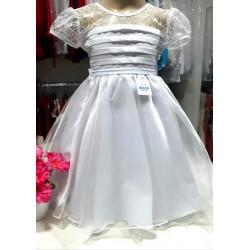 Vestido branco c/ renda