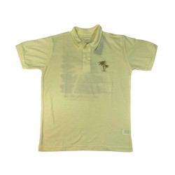 Camiseta Gola Polo Lisa Hawaii
