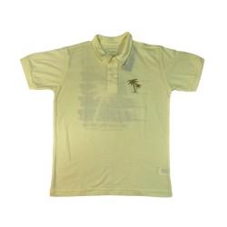 Camiseta Gola Polo Lisa Hawaii