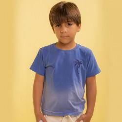 Camiseta em Malha PT Gola...