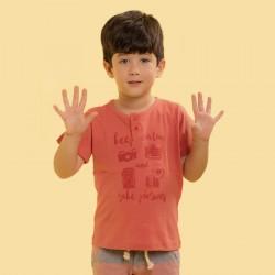 Camiseta Gola Redonda...