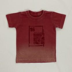 Camiseta Gola Redonda Vermelha