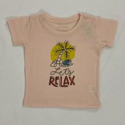 Camiseta Gola Redonda Relax